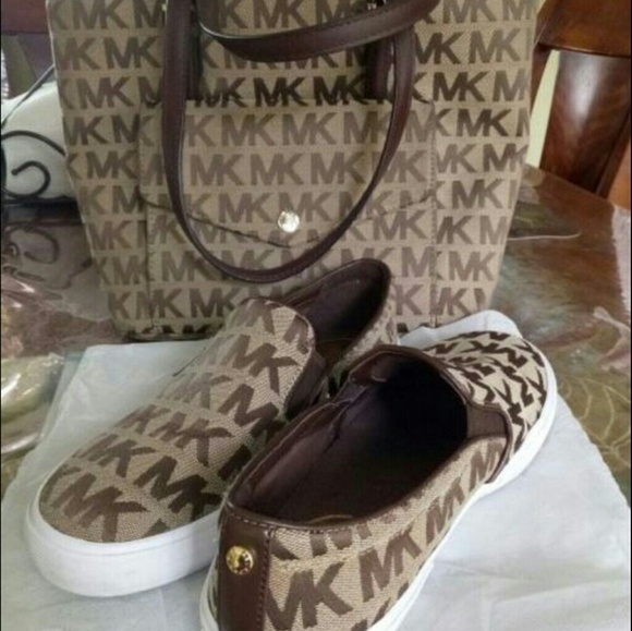 Michael kors Matching shoes and purse